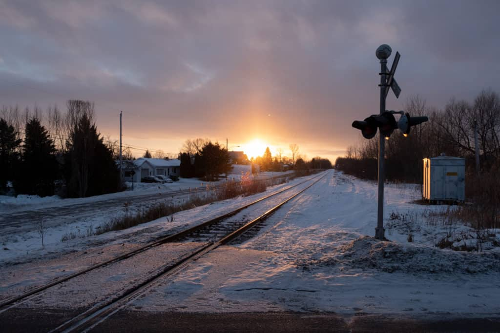 Railroad industry winter problems