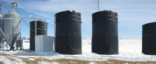 How to keep water tanks from freezing