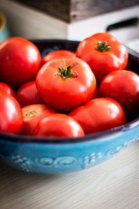 bowl of tomatos