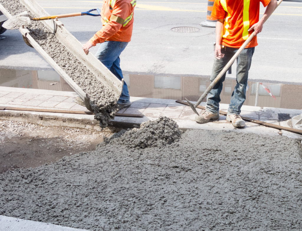 how long does it take concrete to set
