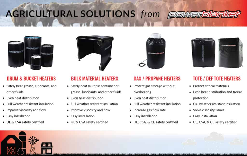 Powerblanket Agricultural Heating Solutions